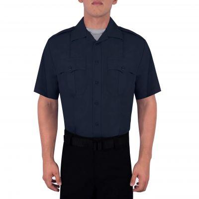 Blauer/'s Men/'s 2XL Tall SS Blue Security Law Enforcement//Corrections Shirt