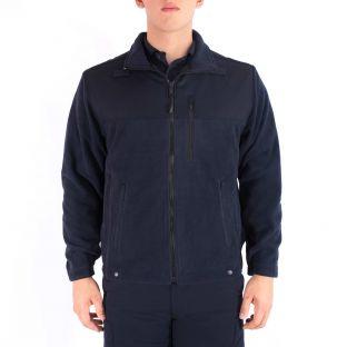 Dark Navy Blue 4650 Fleece Jacket Blauer - Front