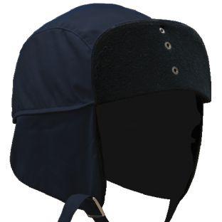 Dark Navy Blue 5120 Fleece-Lined BDRY Trooper Cap Blauer