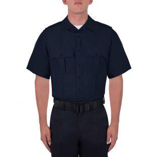 Dark Navy Blue Wool Armorskin 8470 Blauer - Front