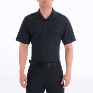 Dark Navy Blue BDU Tactical Shirt 8740 Blauer - Front