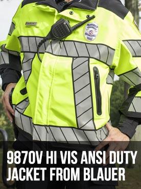 9870V Hi Vis ANSI Duty Jacket from Blauer
