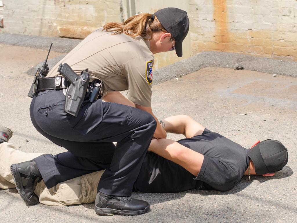 Blauer Women's Police Boots