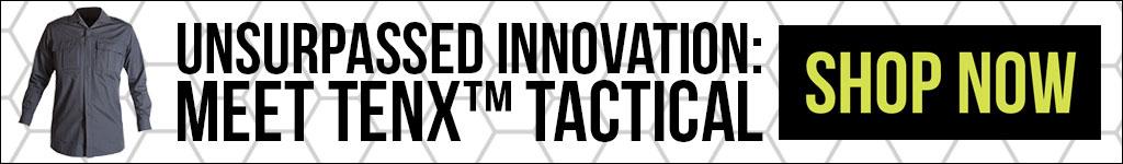 Blauer TenX Tactical Blog Banner