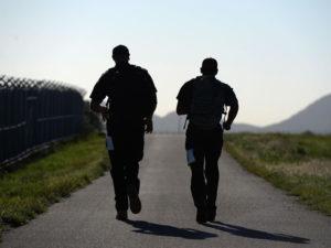Walking Away - By Lt. Tim Cotton