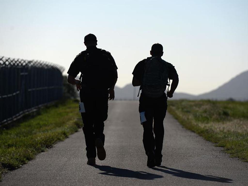 Police Officer Walking Away Blog Blauer